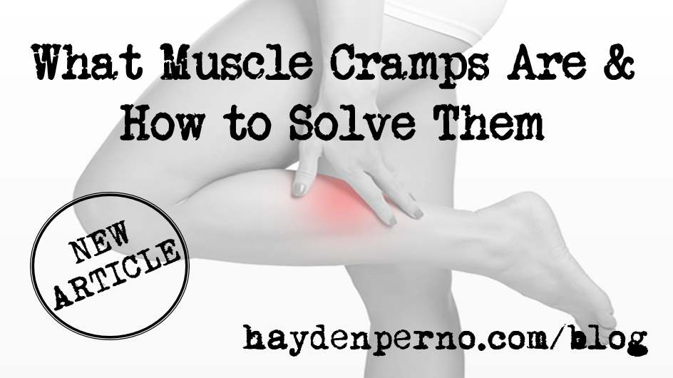 muscle cramp feature